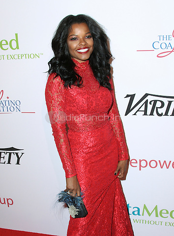 BEVERLY HILLS, CA - MAY 12: Keesha Sharp attends the AltaMed Power Up, We Are The Future Gala at the Beverly Wilshire Four Seasons Hotel on May 12, 2016 in Beverly Hills, California. Credit: Parisa/MediaPunch.