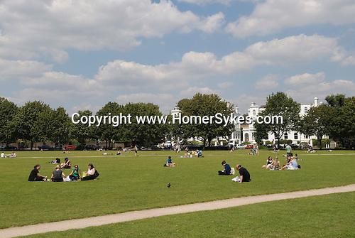 Richmond on Thames Surrey UK  Richmond Green.