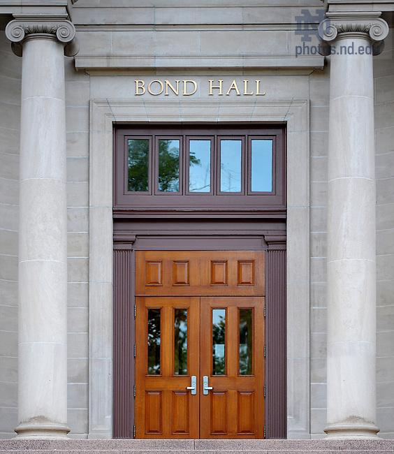 June 13, 2011; Bond Hall Door..Photo by Matt Cashore/University of Notre Dame