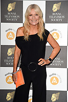 LONDON, UK. March 19, 2019: Gaby Roslin arriving for the Royal Television Society Awards 2019 at the Grosvenor House Hotel, London.<br /> Picture: Steve Vas/Featureflash