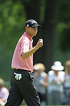 May 8,2011 - Bill Haas on number six.  Lucas Glover wins the tournament in sudden death over Jonathan Byrd at Quail Hollow Country Club,Charlotte,NC.