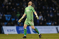 Tomas Holy of Gillingham during the Sky Bet League 1 match between Gillingham and Fleetwood Town at the MEMS Priestfield Stadium, Gillingham, England on 27 January 2018. Photo by David Horn.