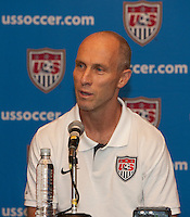U.S. Men's National Team press conference vs. Mexico - August 11, 2009 at Estadio Azteca; Mexico City, Mexico.   .