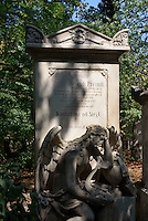 Friedhof St.Marx in Wien, Österreich<br /> Cemetery St. Marx, Vienna, Austria