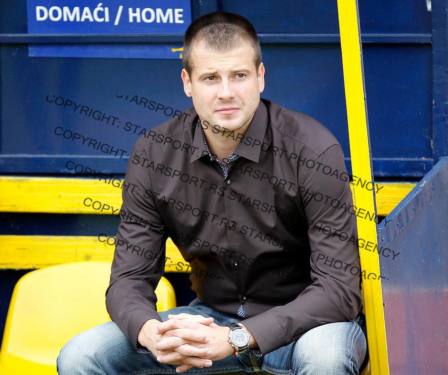 Fudbal Super liga season 2013-2014<br /> Vozdovac v Crvena Zvezda<br /> Head coach Nenad Lalatovic<br /> Beograd, 22.09.2013.<br /> foto: Srdjan Stevanovic/Starsportphoto &copy;