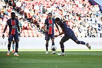 21st July 2020, Parc de Princes, Paris, France; Friendly club football, PSG versus Celtic;   NEYMAR JR of PSG shoots and scores his goal