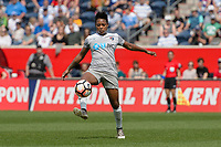 Bridgeview, IL - Saturday May 27, 2017: Taylor Smith during a regular season National Women's Soccer League (NWSL) match between the Chicago Red Stars and the North Carolina Courage at Toyota Park. The Red Stars won 3-2.
