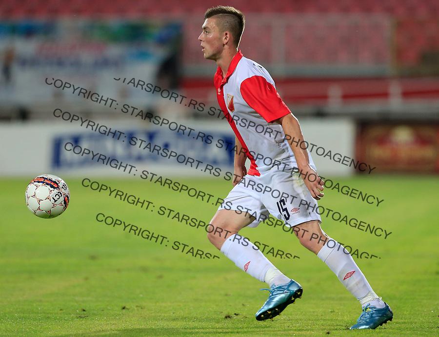 Fudbal UEFA Europa League 2015-2016<br /> Second qualifying round, First leg<br /> Vojvodina v Spartaks Jurmala<br /> Bojan Nastic<br /> Novi Sad, 16.07.2015.<br /> foto: Srdjan Stevanovic/Starsportphoto &copy;