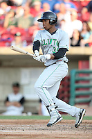 May 29, 2010: Kalian Sams (39) of the Clinton LumberKings at Elfstrom Stadium in Geneva, IL. The LumberKings are the Midwest League Class A affiliate of the Seattle Mariners. Photo by: Chris Proctor/Four Seam Images