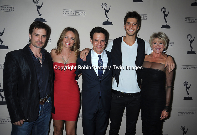 group shot attending the Television Academy's Daytime Programming Peer Group presents a cocktail reception in honor of the 2011 Daytime Emmy Awards Nominees on June 16, 2011 .at The SLS Hotel at Beverly Hills in California.