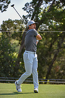 Thorbjorn Olesen (DEN) watches his tee shot on 2 during day 1 of the WGC Dell Match Play, at the Austin Country Club, Austin, Texas, USA. 3/27/2019.<br /> Picture: Golffile | Ken Murray<br /> <br /> <br /> All photo usage must carry mandatory copyright credit (© Golffile | Ken Murray)