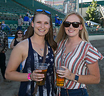 Sam and Katlin during the Reno Rodeo Concert on Wednesday night, June 19, 2019.