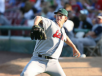 Clayton Kershaw of the Great Lakes Lagoons during the Midwest League All-Star game.  Photo by:  Mike Janes/Four Seam Images