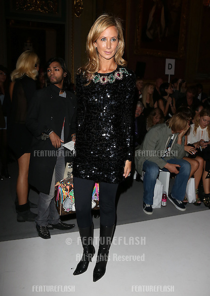 Lady Victoria Hervey attending the PPQ catwalk show as part of London Fashion Week SS13 at Goldsmith's Hall, London. 14/09/2012 Picture by: Henry Harris / Featureflash