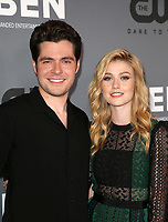 BEVERLY HILLS, CA - AUGUST 4: Ben Lewis, Katherine McNamara, at The CW's Summer TCA All-Star Party at The Beverly Hilton Hotel in Beverly Hills, California on August 4, 2019. <br /> CAP/MPI/FS<br /> ©FS/MPI/Capital Pictures