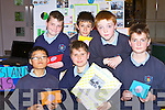 Castleisland Boys NS pupils who invented a Minature Memory game for the Junior Entrepreneur awards in the Malton Hotel Killarney on Wednesday front row l-r: Arsky Arino, David Michno, Diarmuid Mitchell. Back row: David Lane, Callum Baker and Liam O'Connor