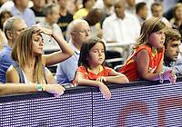 Spain's Juan Carlos Navarro receives the homage of his wife and daughters on his two hundred international matches during friendly match.July 24,2012. (ALTERPHOTOS/Acero) /NortePhoto.com<br /> **CREDITO*OBLIGATORIO** *No*Venta*A*Terceros*<br /> *No*Sale*So*third* ***No*Se*Permite*Hacer Archivo***No*Sale*So*third*©Imagenes*con derechos*de*autor©todos*reservados*.