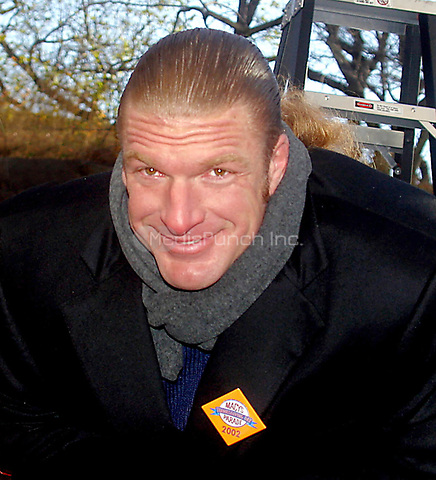 Triple H  2002<br /> THE 76TH ANNUAL MACY'S THANKSGIVING DAY PARADE IN NEW YORK CITY<br /> Photo By John Barrett/PHOTOlink.net /MediaPunch