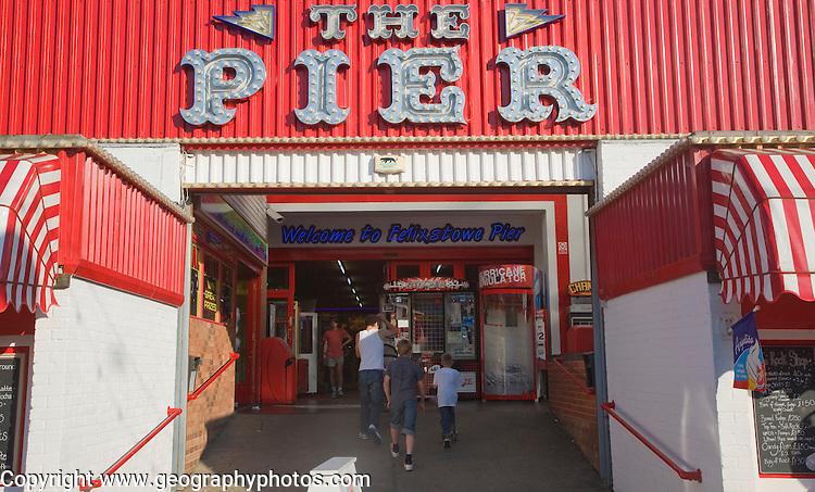 Amusements arcade at the pier, Felixstowe, Suffolk, England