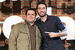"Dani Martinez and Josh Gad attends the ""The Wedding Ringer"" Presentation at Matadero, Madrid,  Spain. February 05, 2015.(ALTERPHOTOS/)Carlos Dafonte)"
