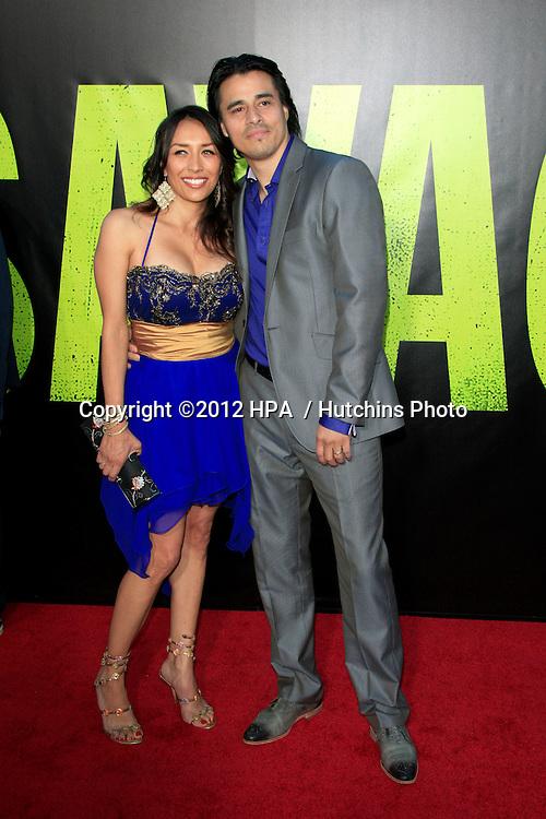 "LOS ANGELES - JUN 25:  Antonio Jaramillo arrives at the ""Savages"" Premiere at Village Theater on June 25, 2012 in Westwood, CA"