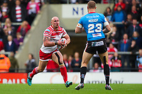 Picture by Alex Whitehead/SWpix.com - 11/05/2018 - Rugby League - Ladbrokes Challenge Cup - Leigh Centurions v Salford Red Devils - Leigh Sports Village, Leigh, England - Leigh's Jamie Acton.