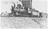 RGS 4-6-0 #25 taking water at Hesperus.<br /> RGS  Hesperus, CO  Taken by Brown, Lawrie - 4/10/1937