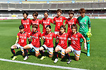 ヲ €、、「ウコャ シケ/Urawa Red Diamonds Ladies team group line-up, <br /> JUNE 17, 2017 - Football / Soccer : <br /> Plenus Nadeshiko League Cup 2017 Division 1 <br /> match between Urawa Reds Ladies 0-0 Vegalta Sendai Ladies <br /> at Saitama Urawa Komaba Stadium in Saitama, Japan. <br /> (Photo by MATSUO.K/AFLO SPORT)
