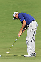 Matt Kuchar (USA) putts onto the 18th green during Saturday's Round 3 of the 2017 PGA Championship held at Quail Hollow Golf Club, Charlotte, North Carolina, USA. 12th August 2017.<br /> Picture: Eoin Clarke | Golffile<br /> <br /> <br /> All photos usage must carry mandatory copyright credit (&copy; Golffile | Eoin Clarke)