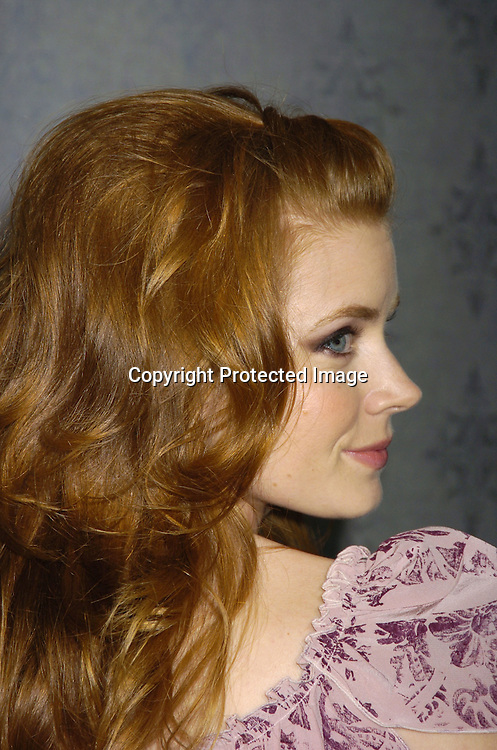 "Actress Amy Adams ..at the New York Premier of ""Junebug"" on August 1, 2005..at the Loews 19th Street Theatre. ..Photo by Robin Platzer, Twin Images"