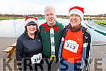Jackie Treanor, Martin Moore and Gerry Treanor at the Fiona Moore Memorial 5k Fun Run in the Tralee Bay Wetlands on Sunday morning.