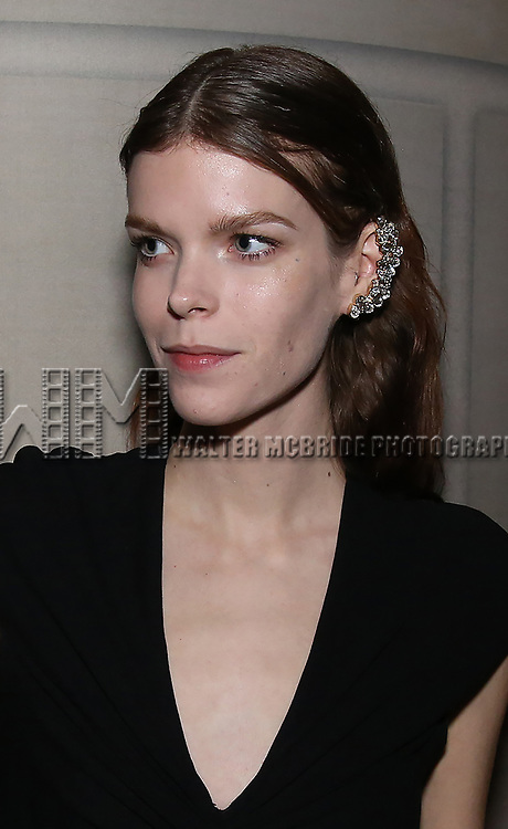 Meghan Collinson  attends 2017 Dramatists Guild Foundation Gala reception at Gotham Hall on November 6, 2017 in New York City.