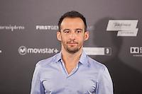 Spanish film director Alejandro Amenabar poses during the `Regresion´ (Regression) film presentation in Madrid, Spain. August 27, 2015. (ALTERPHOTOS/Victor Blanco)