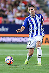 Deportivo Alaves's Krsticic during the match of La Liga Santander between Atletico de Madrid and Deportivo Alaves at Vicente Calderon Stadium. August 21, 2016. (ALTERPHOTOS/Rodrigo Jimenez)