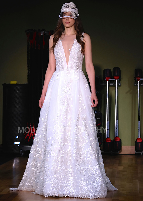 RITA VINIERIS, RIVINI, Alyne by Rita Vinieris NYC Bridal Fashion Week, Fall Winter 2018 Runway Show