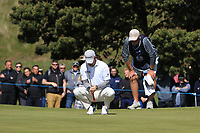 Richie Ramsay (SCO) on the 4th green during Round 4 of the Betfred British Masters 2019 at Hillside Golf Club, Southport, Lancashire, England. 12/05/19<br /> <br /> Picture: Thos Caffrey / Golffile<br /> <br /> All photos usage must carry mandatory copyright credit (© Golffile | Thos Caffrey)