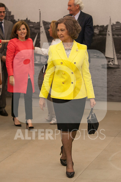 "Queen Sofia of Spain during the ""REY DE ESPAÑA"" International Journalism Awards and ¨DON QUIJOTE"" Journalism Award in Madrid, Spain. May 27, 2014. (ALTERPHOTOS/Victor Blanco)"