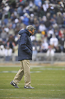 27 November 2010:  Penn State coach Joe Paterno..The Michigan State Spartans defeated the Penn State Nittany Lions 28-22 to win the Land Grant Trophy at Beaver Stadium in State College, PA..