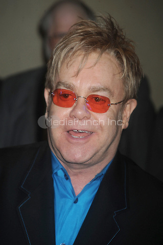 Sir Elton John attends the 75th Annual Drama League Awards at the Marriot Marquis in New York City. May 15, 2009 Credit: Dennis Van Tine/MediaPunch