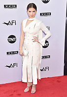 HOLLYWOOD, CA - JUNE 07: Anna Kendrick arrives at the American Film Institute's 46th Life Achievement Award Gala Tribute To George Clooney at the Dolby Theatre on June 7, 2018 in Hollywood, California.<br /> CAP/ROT/TM<br /> &copy;TM/ROT/Capital Pictures