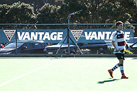 Sponsors signage. 2019 National Hockey Under-18 Tournament at National Hockey Stadium in Wellington, New Zealand on Saturday, 13 July 2019. Photo: Hagen Hopkins / www.hagenhopkins.co.nz