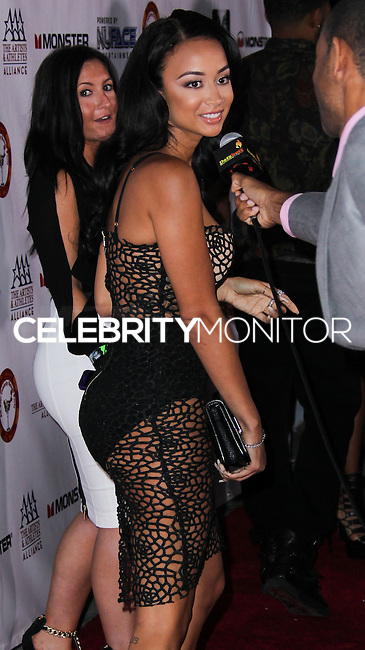 WEST HOLLYWOOD, CA, USA - JULY 14: Draya Michele arrives at the 9th Annual All-Star Celebrity Kickoff Party held at the Mondrian Los Angeles on July 14, 2014 in West Hollywood, California, United States. (Photo by Xavier Collin/Celebrity Monitor)