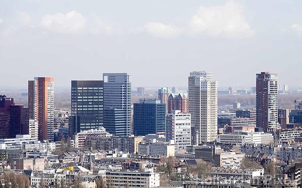Nederland Rotterdam  26 maart 2018.  Hoogbouw in het centrum van Rotterdam.  Foto Berlinda van dam / Hollandse Hoogte