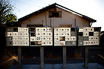 Dilapidated mailboxes at the Rancho Garcia trailer park in Thermal, Calif., March 9, 2012.