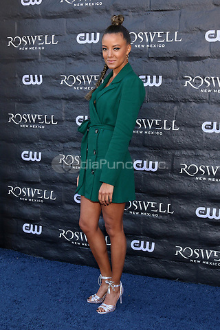 "WEST HOLLYWOOD, CA - JANUARY 10:  Heather Hemmens at the ""Roswell, New Mexico"" Experience at the 8801 Sunset Blvd on January 10, 2019 in West Hollywood, CA Credit: David Edwards/MediaPunch"