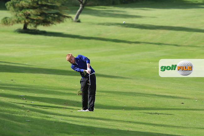 Eanna Griffin (Waterford) on the 15th fairway during Round 4 of the Connacht Stroke Play Championship at Athlone Golf Club Sunday 11th June 2017.<br /> Photo: Golffile / Thos Caffrey.<br /> <br /> All photo usage must carry mandatory copyright credit     (&copy; Golffile | Thos Caffrey)