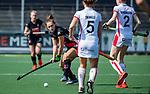 AMSTELVEEN -  Kelly Jonker (A'dam)  tijdens de hoofdklasse competitiewedstrijd hockey dames,  Amsterdam-Oranje Rood (5-2). COPYRIGHT KOEN SUYK