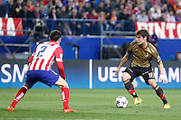 Milan´s Andrea Poli during 16th Champions League soccer match at Vicente Calderon stadium in Madrid, Spain. January 06, 2014. (ALTERPHOTOS/Victor Blanco)