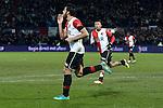 Nederland, Rotterdam, 1 december  2012.Eredivisie.Seizoen 2012-2013.Feyenoord-RKC Waalwijk.Graziano Pelle van Feyenoord scoort de 1-0