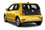 Car pictures of rear three quarter view of 2017 Volkswagen E-Up - 5 Door Hatchback Angular Rear